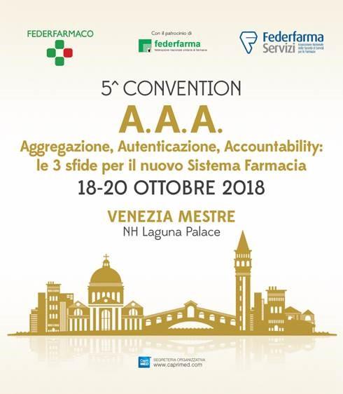 5° Convention Federfarmaco Federfarma Servizi @ VENEZIA MESTRE