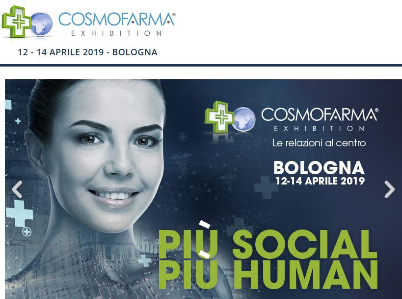 COSMOFARMA 2019 - STAND ASSORAM E51 - PAD.30 @ FIERA BOLOGNA - Stand E51 Pad.30