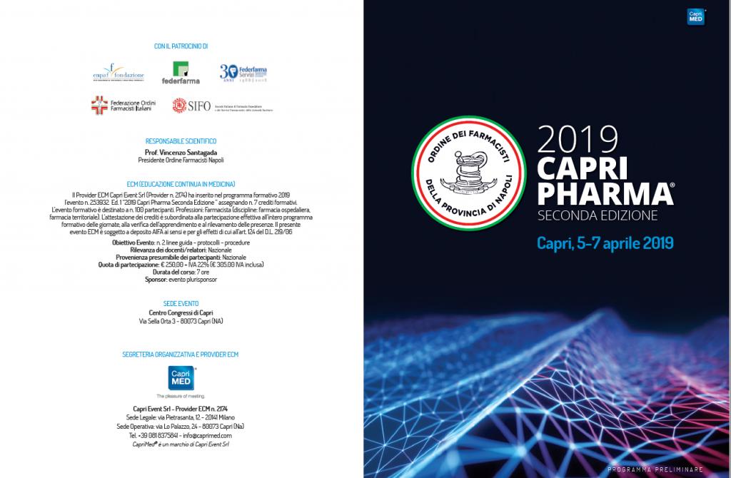 Capri Pharma 2019 @ Hotel la Residenza - CAPRI