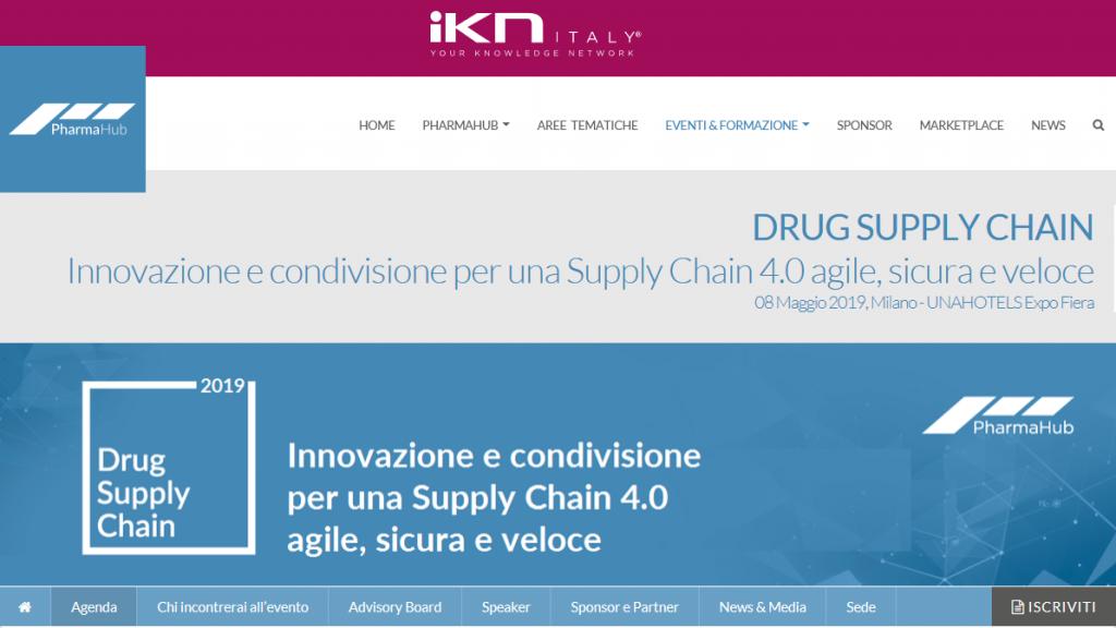 DRUG SUPPLY CHAIN 2019 - Innovazione e condivisione per una Supply Chain 4.0 agile, sicura e veloce @ UNAHOTELS Expo Fiera