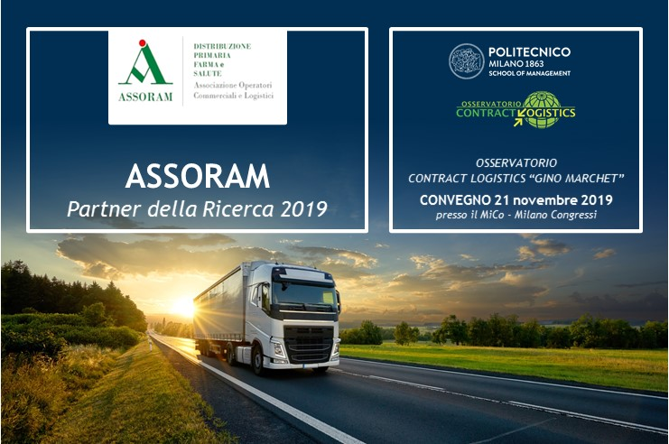 """PoliMi - Presentazione dei risultati della Ricerca dell'Osservatorio Contract Logistics """"Gino Marchet"""" @ MiCo - Milano Congressi"""